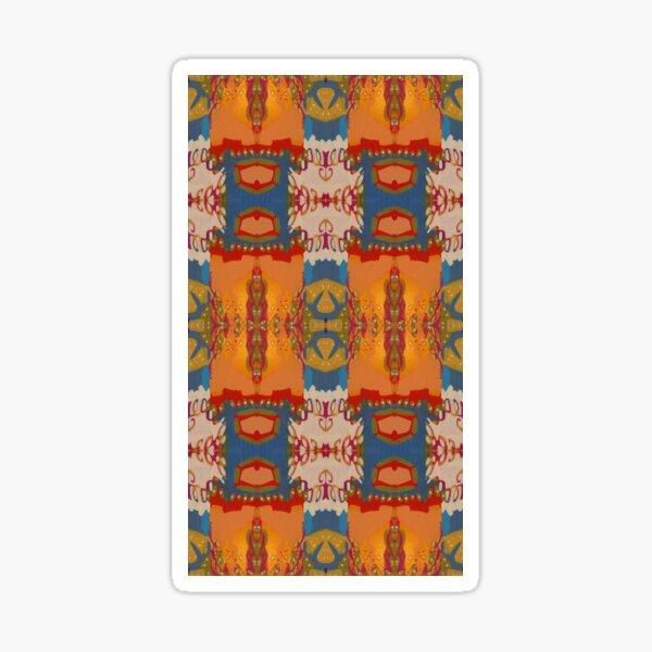 Abstract Marrakesh Sticker