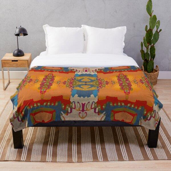 Abstract Marrakesh Throw Blanket