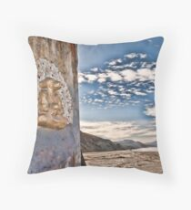 Dog Buddha Throw Pillow