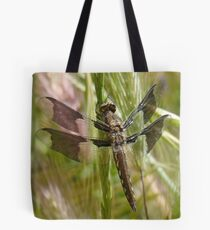 Black dragonfly Tote Bag