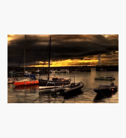Storm Over Newhaven Photographic Print