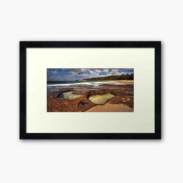 Depot Beach, South Coast, NSW Framed Art Print