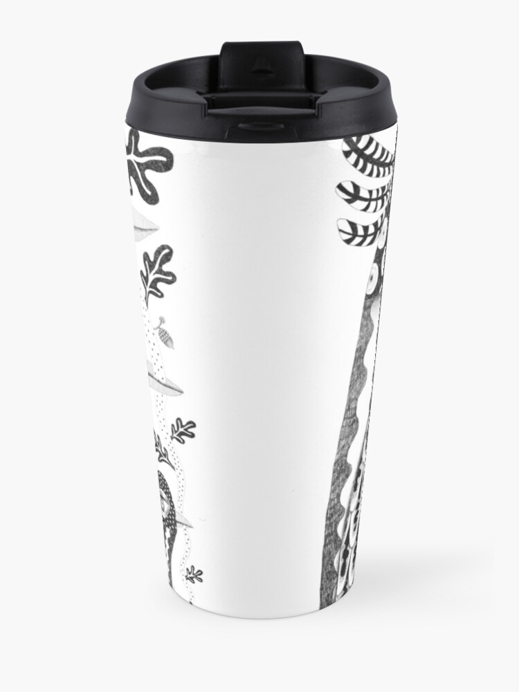 Alternate view of Let's stick together Travel Mug