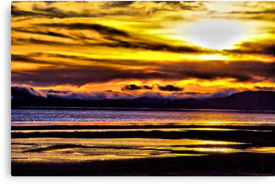 Mare Island Sunset 12 (HDR #2) by Lenny La Rue, IPA