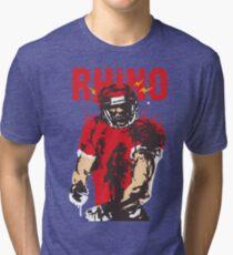 Blooded Rhino Tri-blend T-Shirt