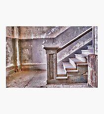 Alcatraz stairway Photographic Print
