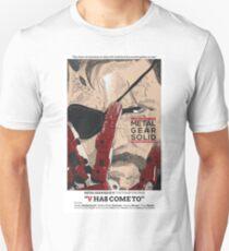 The Phantom Pain: V Has Come To T-Shirt
