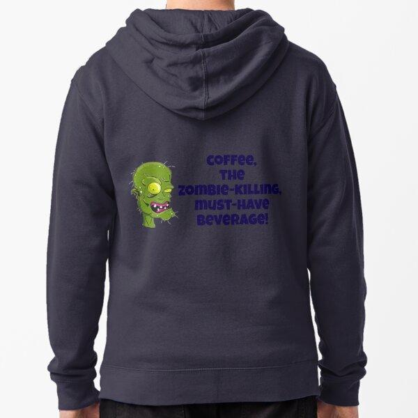 AAAAHHHHH Zombies! Zipped Hoodie