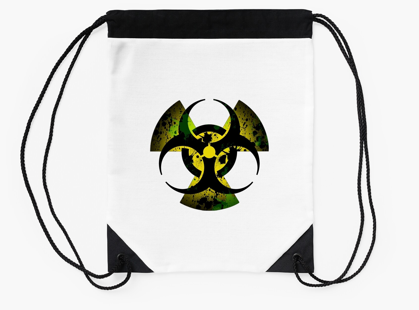 Quarantine logo drawstring bags by pasteldotz redbubble quarantine logo biocorpaavc Image collections