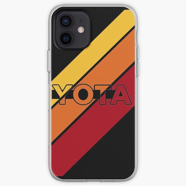 Yota Stripes retro style iPhone Soft Case