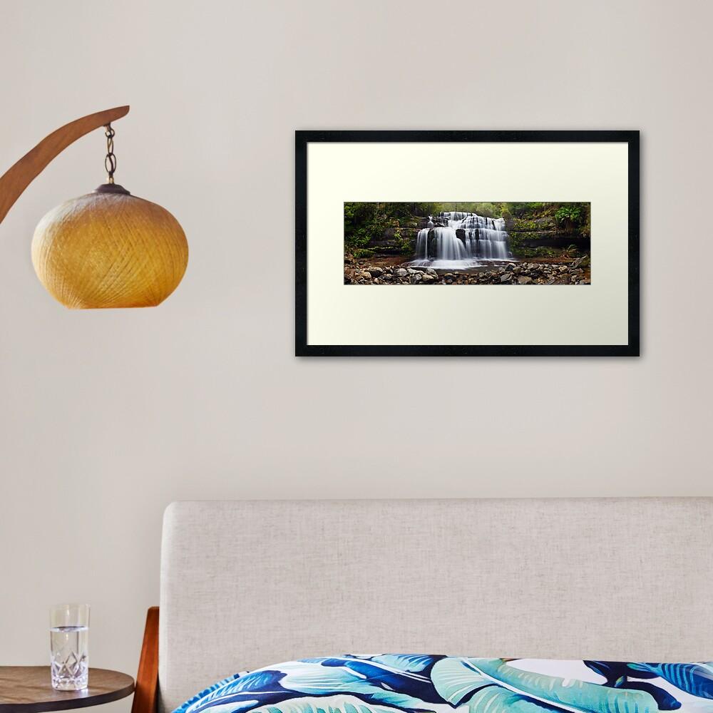 Liffey Falls, Great Western Tiers, Tasmania Framed Art Print