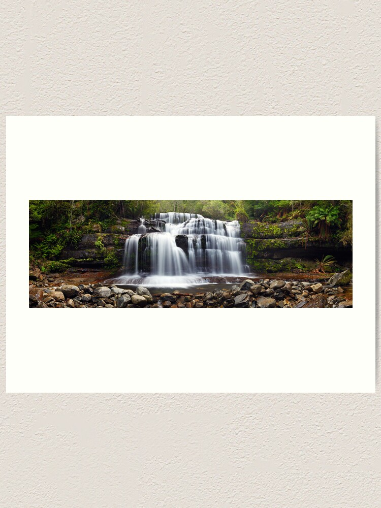 Alternate view of Liffey Falls, Great Western Tiers, Tasmania Art Print
