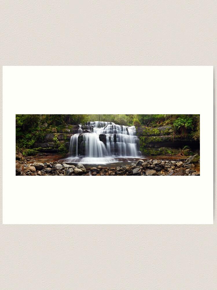Alternate view of Liffey Falls, Great Western Tiers, Tasmania Art Print