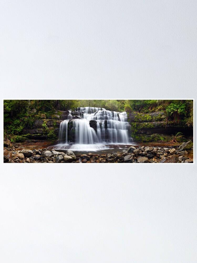 Alternate view of Liffey Falls, Great Western Tiers, Tasmania Poster