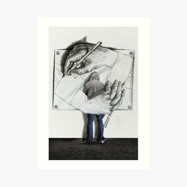 I love Escher Art Print