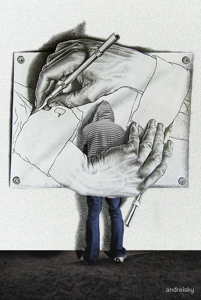 I love Escher by andreisky