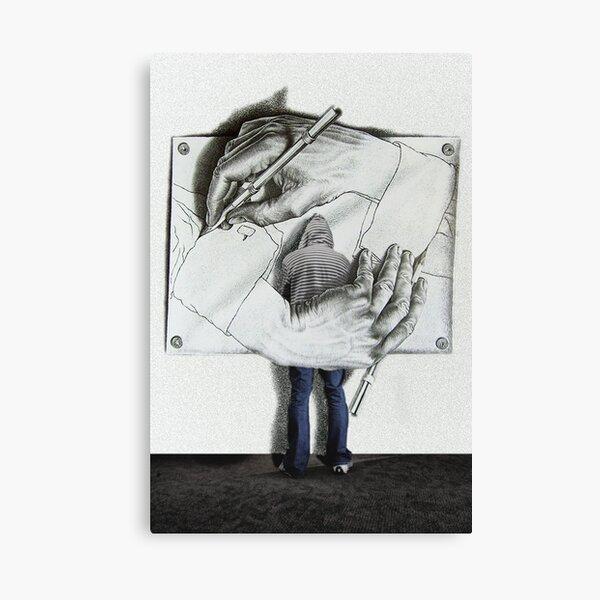 I love Escher Canvas Print