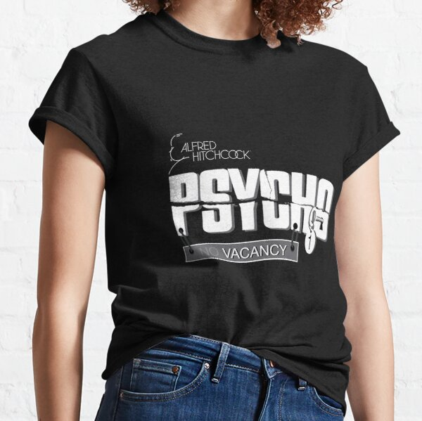 Officially Licensed Hitchcock's Psycho Classic T-Shirt