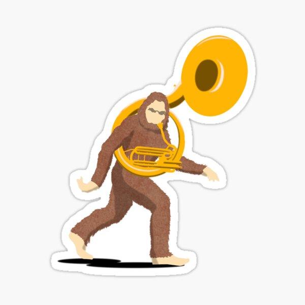 Sousa Squatch Sticker