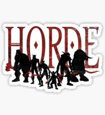 Horde Sticker