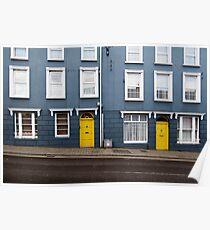 Irish windows Poster