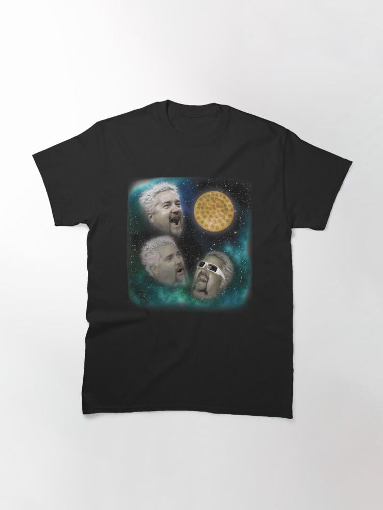 Alternate view of Three Fieri Pizza Classic T-Shirt