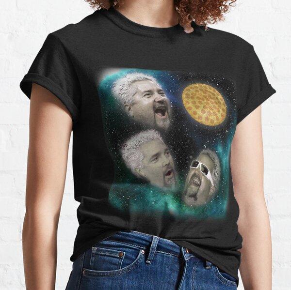 Three Fieri Pizza Classic T-Shirt