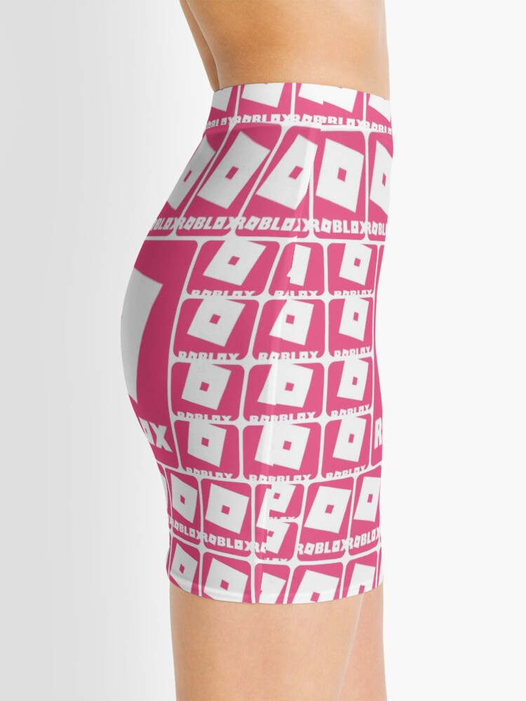 Roblox Pink Game Collage Mini Skirt By Best5trading Redbubble