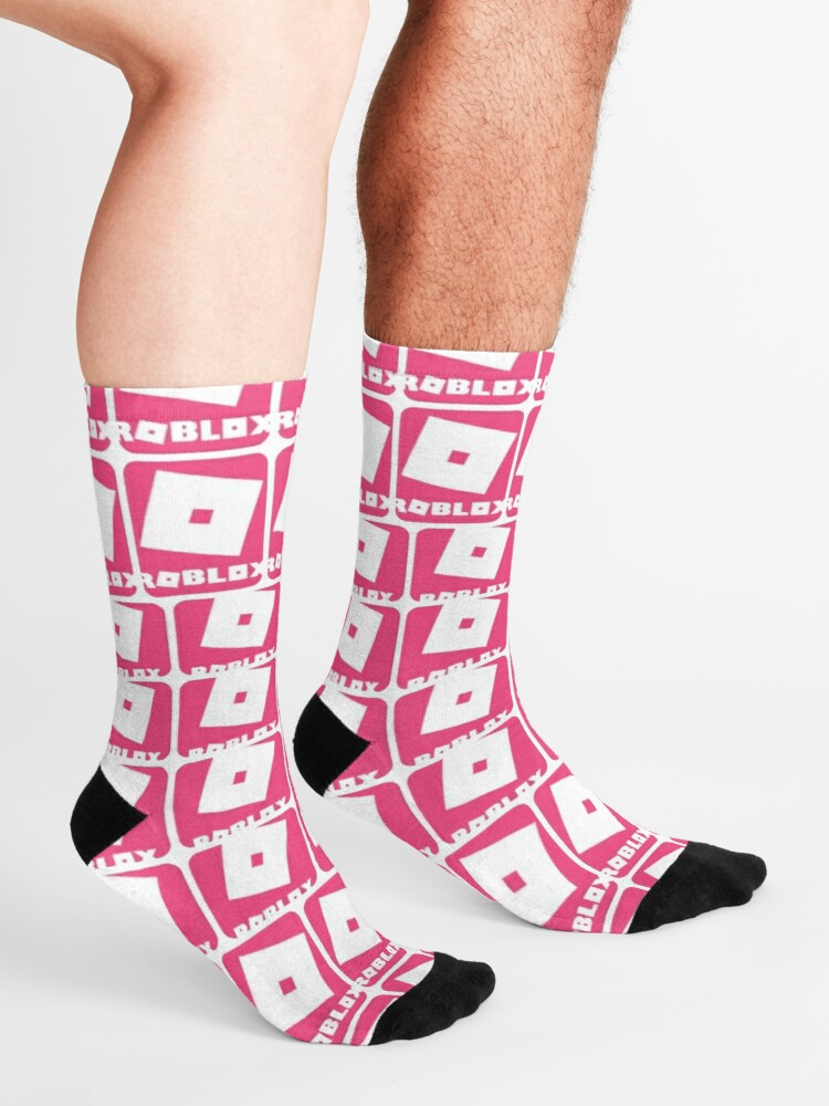 Roblox Pink Game Collage Socks By Best5trading Redbubble