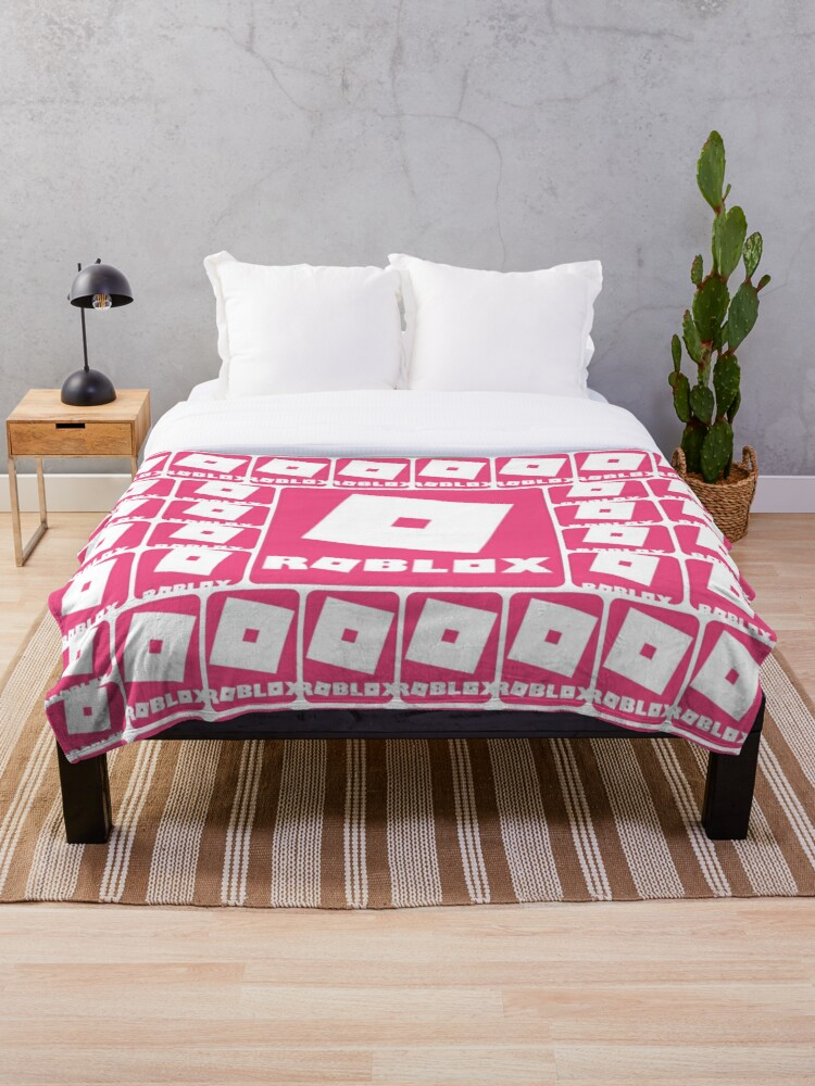 Roblox Pink Game Collage Throw Blanket By Best5trading Redbubble
