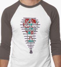 Sleep With One Eye Open Clock Men's Baseball ¾ T-Shirt
