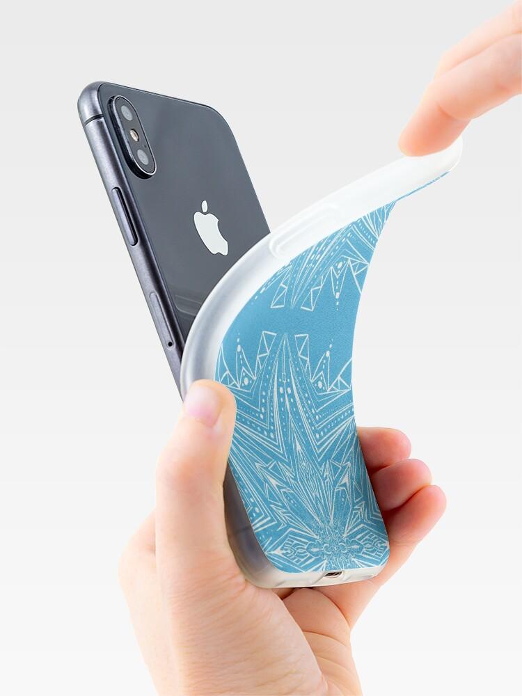 Alternative Ansicht von Schneeflocke II  iPhone-Hülle & Cover