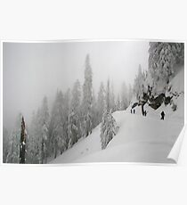 Grouse Mountain Snowshoeing  Poster