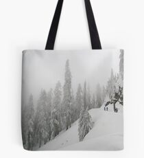 Grouse Mountain Snowshoeing  Tote Bag