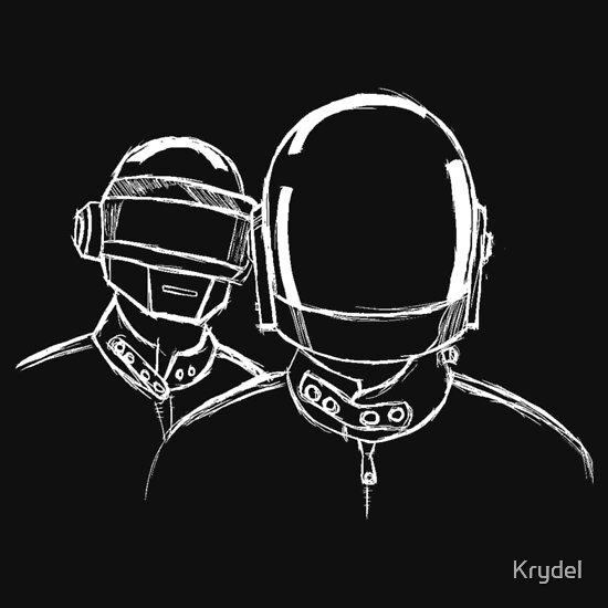 TShirtGifter presents: Daft Punk Sketch