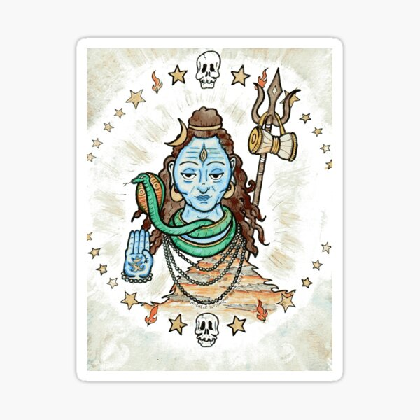 Shiva Sticker