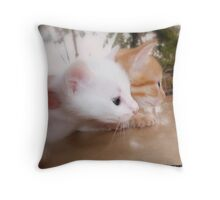 MARATHON Throw Pillow