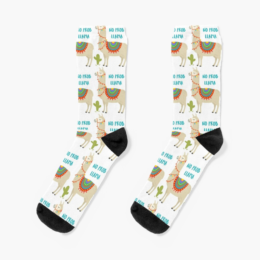 Ultra Soft No Drama LLama Long Boot Socks Womens Stockings