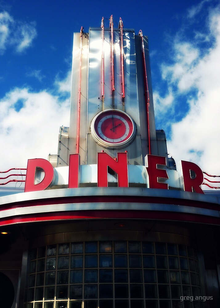 classic diner by greg angus