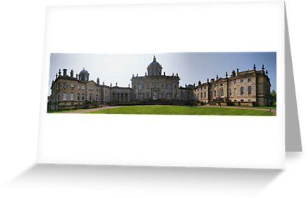 Castle Howard ~ Panorama,  HDR ~ #2 by Sandra Cockayne