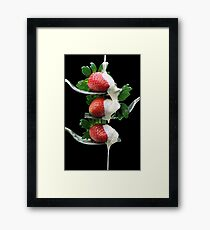 Forkfuls of Fancy Framed Print