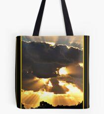 "Sun's Rays ""Hard Aussie Sun"" Tote Bag"