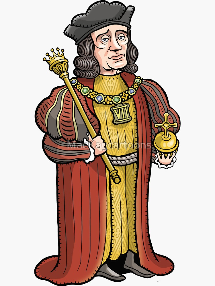 Henry VII by MacKaycartoons