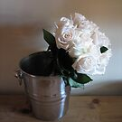 Roses in Champagne Bucket by RKLazenby
