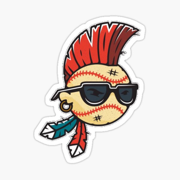 chief wahoo stickers redbubble