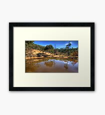 Reflections In Time - Hill End , NSW Australia - The HDR Experience Framed Print