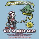 Paranormal Pest Exterminators by ninjaink