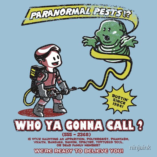 TShirtGifter presents: Paranormal Pest Exterminators
