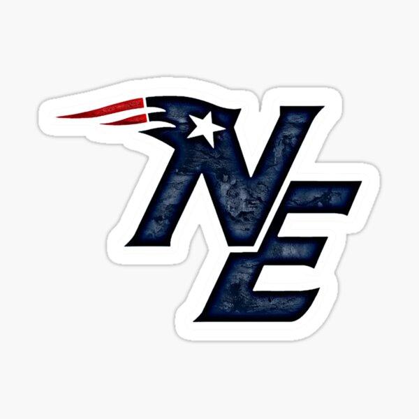 New England Team Logo Design Sticker