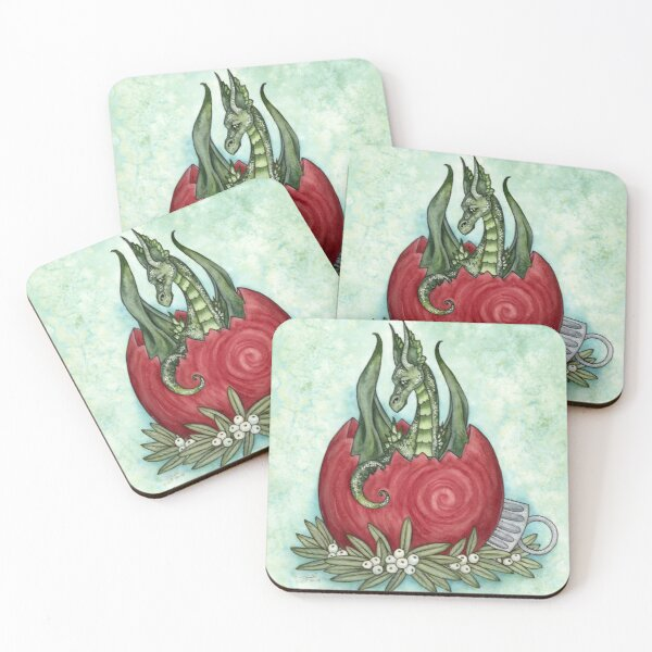Holiday Mischief Coasters (Set of 4)
